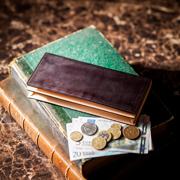 コードバン 通しマチ長財布